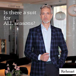 All season men`s suit