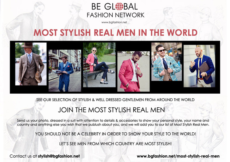 Most Stylish Real Men
