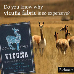 Vicuna fabric