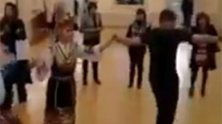 Antonio Banderas and the Bulgarian national dances