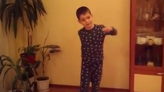Folklore dance in Pajamas