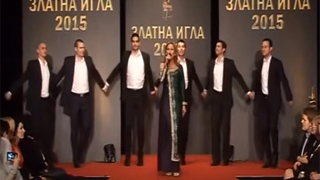 RICHMART DANCE FORMATION at the Golden Needle Award ceremony