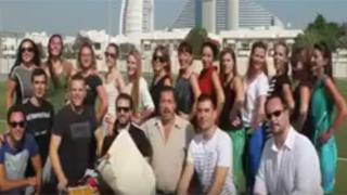 Dance club Zdravets, Dubai