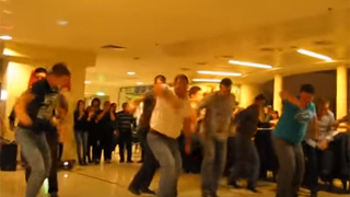 The unique men class of the sailors - dance from Thrace