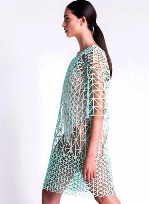 Fashion Trends: First fashion collection entirely 3D-printed at home