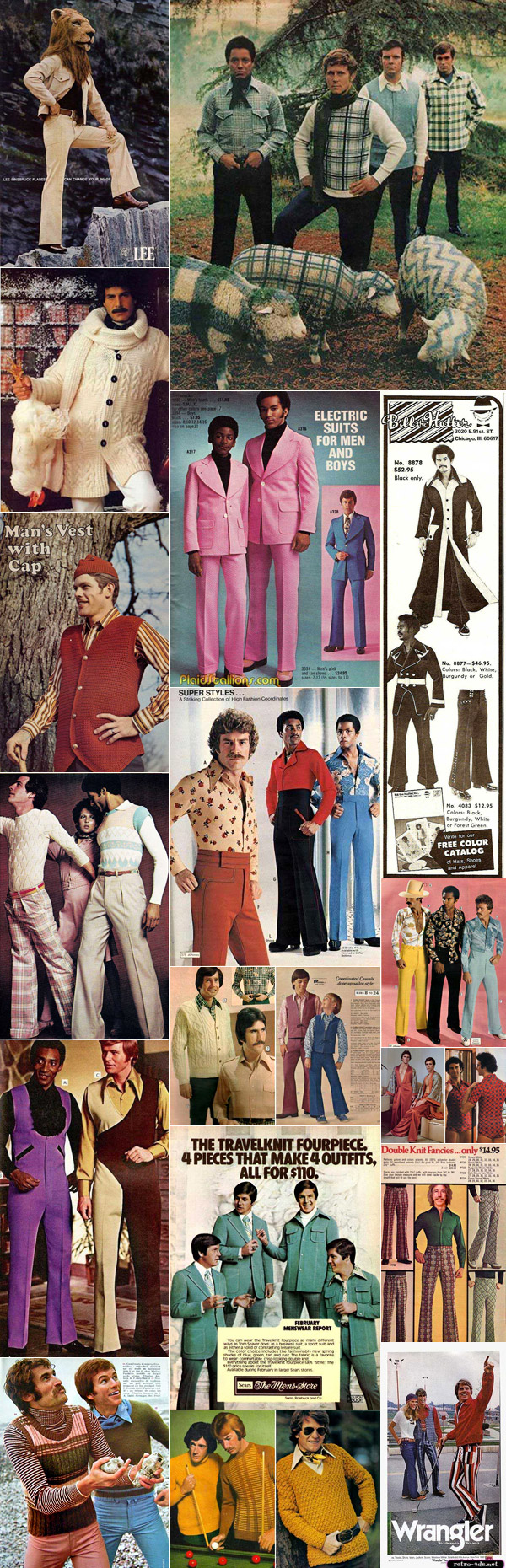 The Funniest 1970s Men's Fashion Ads