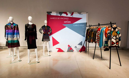 Exhibition '5+5' during the AltaRomaAltaModa fashion week