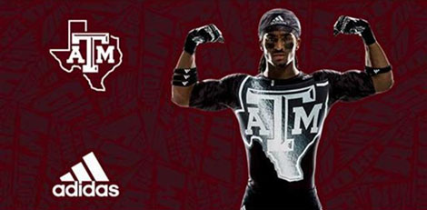 Texas A&M & adidas Unveil New Special Edition Uniforms For Halloween