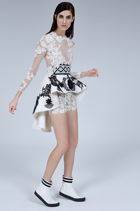 Floral Geometry - Couture Spring Summer 2015 by ALFREDO VILLALBA