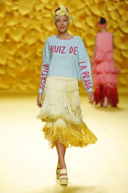 2e6f85c91468e Agatha Ruiz de la Prada presented Spring Summer 2016 collection during  Mercedes-Benz Fashion Week Madrid