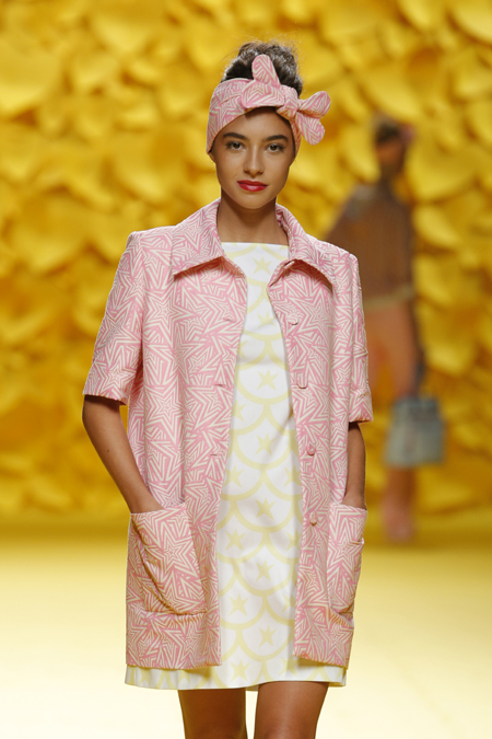 Agatha Ruiz de la Prada presented Spring/Summer 2016 collection during Mercedes-Benz Fashion Week Madrid