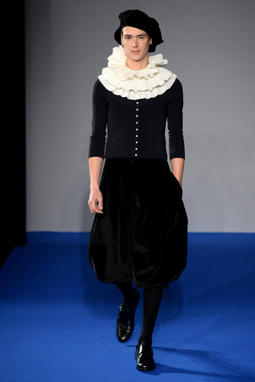 Agnès B. Fall-Winter 2015/2016 menswear collection at PMFW