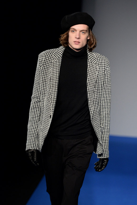 Agnès B. Fall-Winter 2015/2016 menswear collection at PMFW