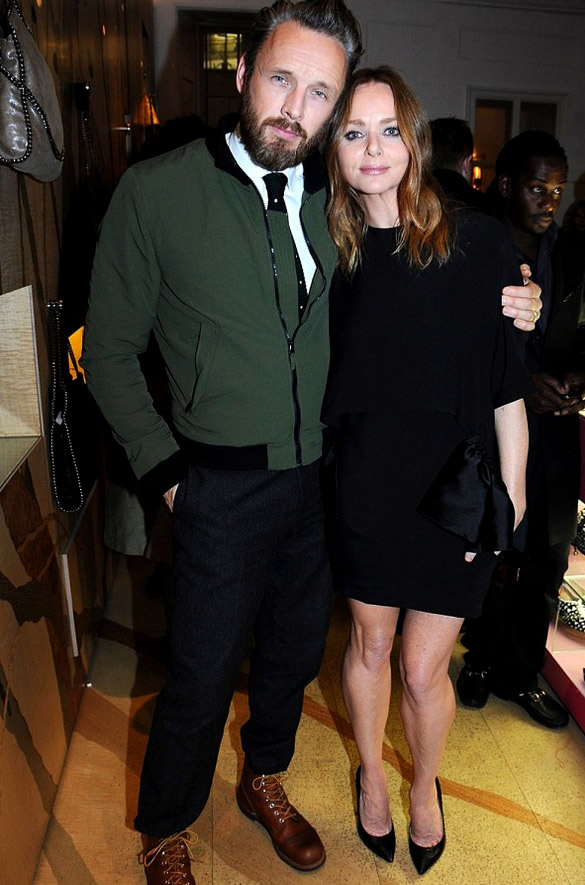 Alasdhair Willis - as stylish as his wife Stella McCartney