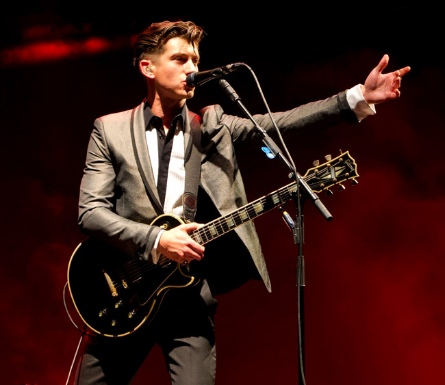 Alex Turner - The Stylish Rock Star