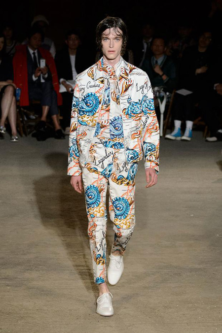 Alexander McQueen Menswear Spring/Summer 2016 collection