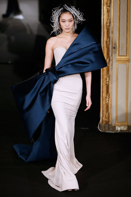 Alexis Mabille presented Spring/Summer 2015 Haute Couture collection during Paris Fashion Week
