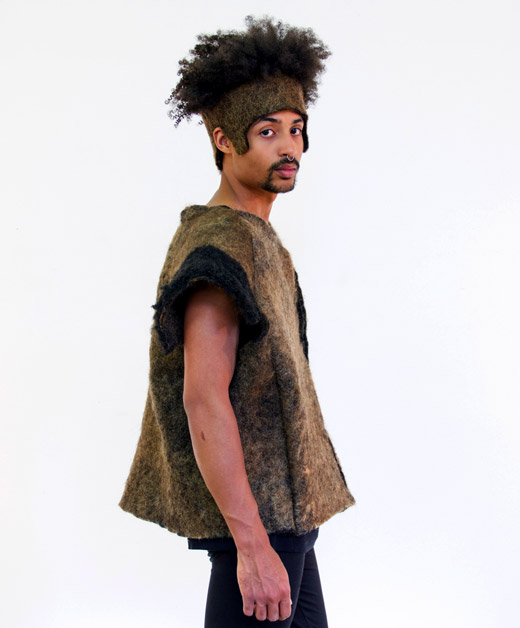 Dutch fashion: Clothing made of human hair