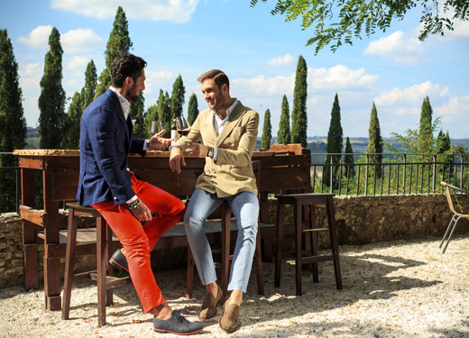 Andrea Neri Spring-Summer 2015 men's suit collection
