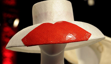 Hats collection by Antica Manifattura Cappelli during the AltaRomaAltaModa fashion week