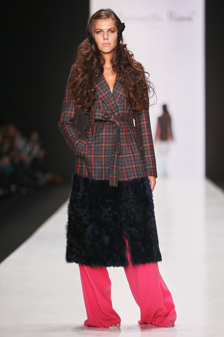 Antonella Rossi presented Fall/Winter 2015-2016 at Mercedes-Benz Fashion Week Russia