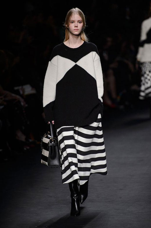 Fall/Winter 2015-2016 trends: Black and white graphic