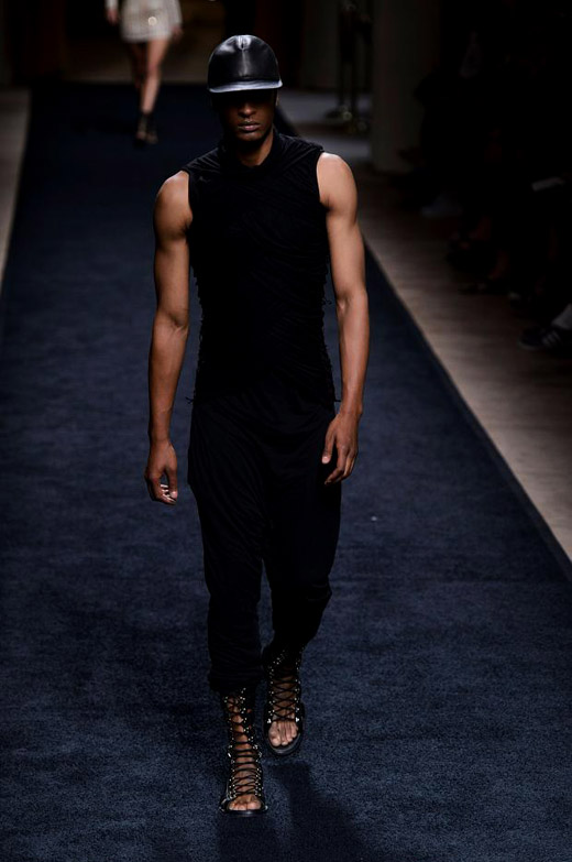 Balmain Spring-Summer 2016 menswear collection