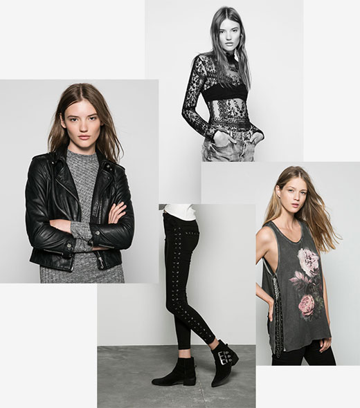 Top 4 Fall/Winter 2015 womenswear trends by Bershka