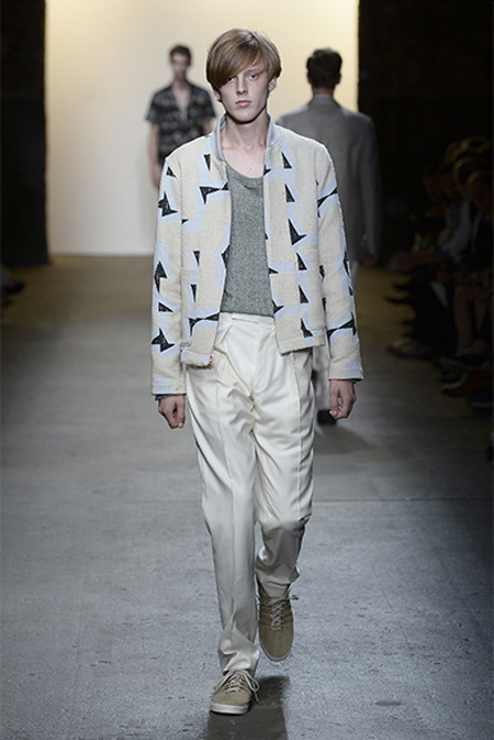Billy Reid Spring/Summer 2016 during New York Fashion Week