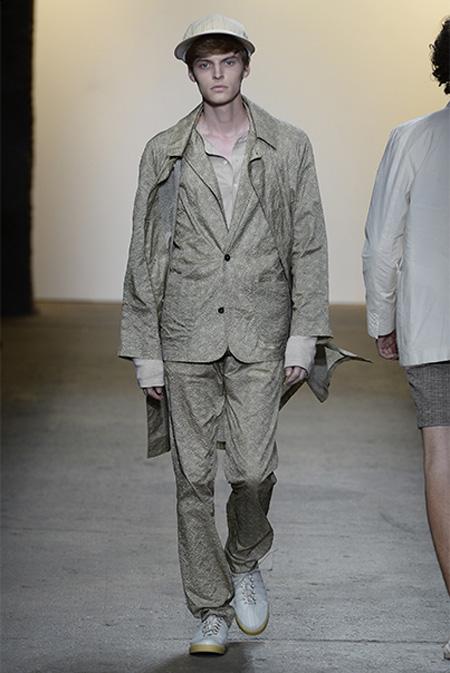 Billy Reid Spring/Summer 2016 during New York Fashion Week