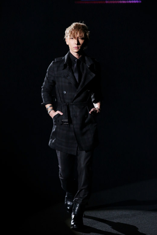 Menswear: Black by VANQUISH Fall-Winter 2015/2016 collection at MBFW Tokyo