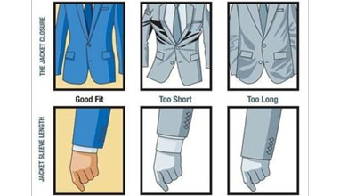 How to wear a suit jacket