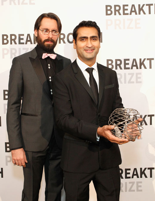 The men's suits at 2016 Breakthrough Prize Ceremony in San Francisco