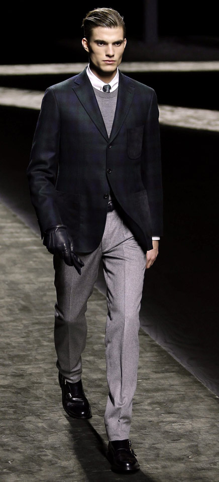 Brioni Fall-Winter 2015/2016 collection at Milan men's fashion week