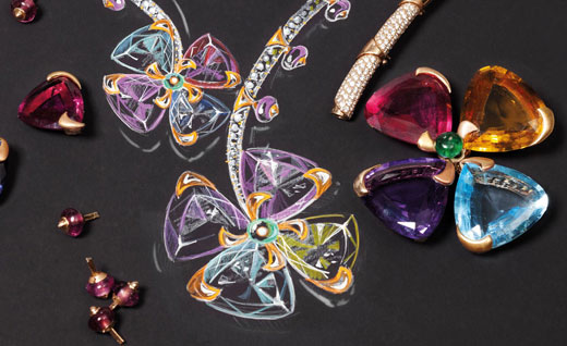 BVLGARI launched ITALIAN GARDENS High Jewellery Collection at Paris Haute Couture