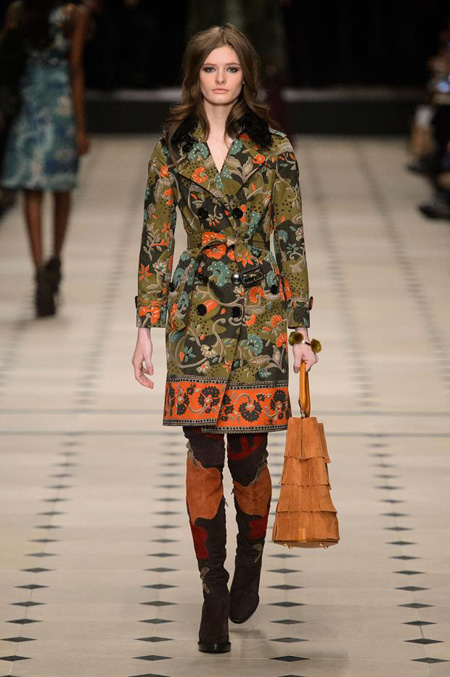 Womenswear: Burberry Prorsum Autumn/Winter 2015 collection
