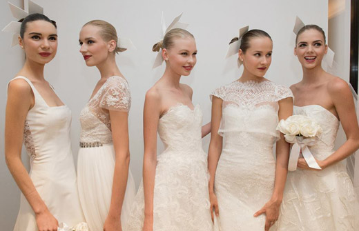 Carolina Herrera Fall 2015 Bridal collection