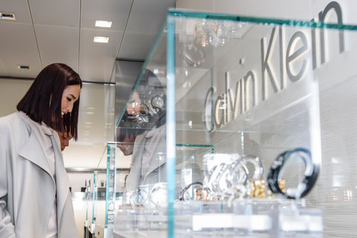 Calvin Klein watches and jewelry at Baseworld 2015