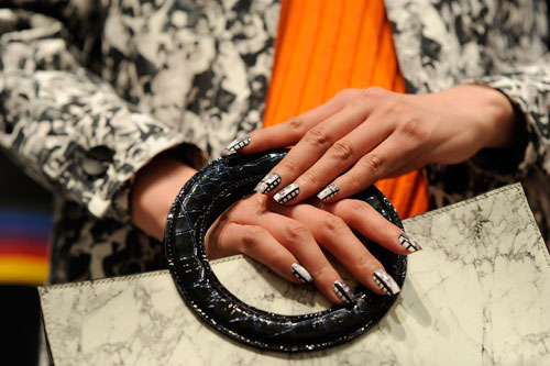 Fall/Winter 2015 designer collaborations and nail designs from CND