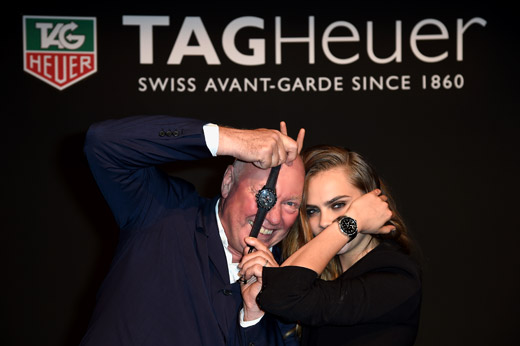 Cara Delevingne & TAG Heuer: the It Girl and the It brand