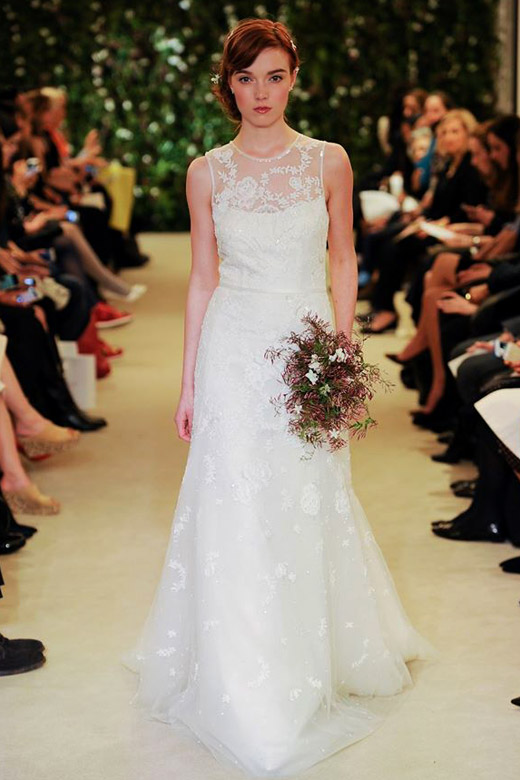Carolina Herrera Spring 2016 Bridal collection