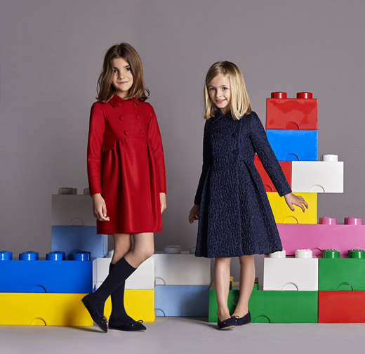 CH Carolina Herrera Fall-Winter 2015/2016 Childrenswear collection