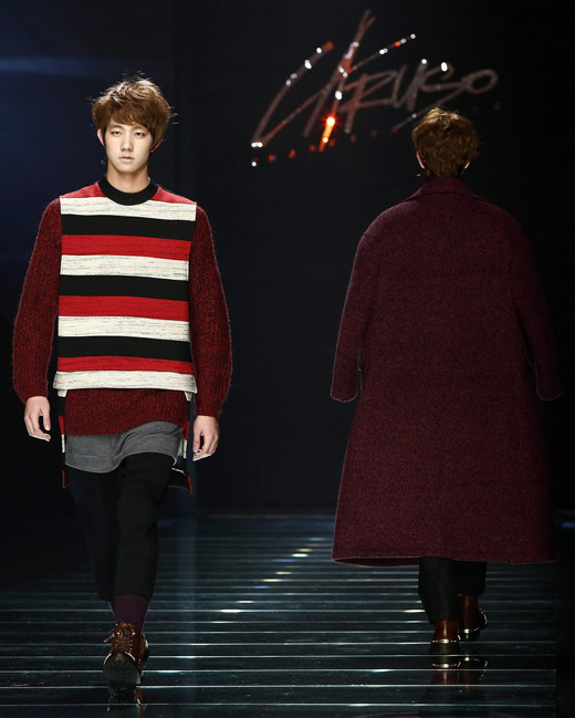 Caruso Fall-Winter 2015/2016 menswear collection at Seoul Fashion Week