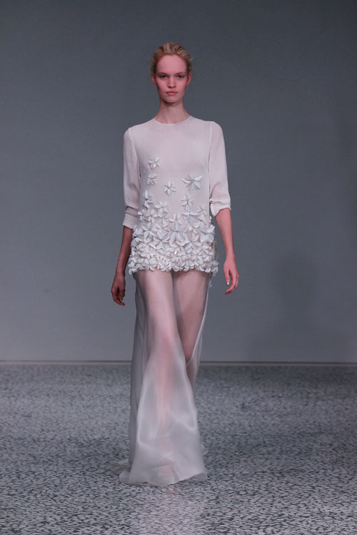 A Hint of Grace by Kaviar Gauche during Mercedez-Benz Fashion Week Berlin