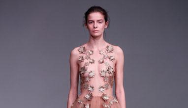 A Hint of Grace by Kaviar Gauche during Mercedez-Benz Fashion Week Berlin