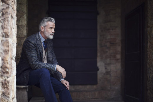 Elegant menswear for Fall-Winter 2015/2016 by Cesare Attolini