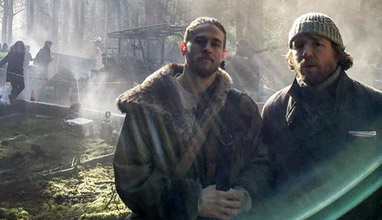 Charlie Hunnam as King Arthur in Guy Ritchie's 'Knights of the Roundtable'