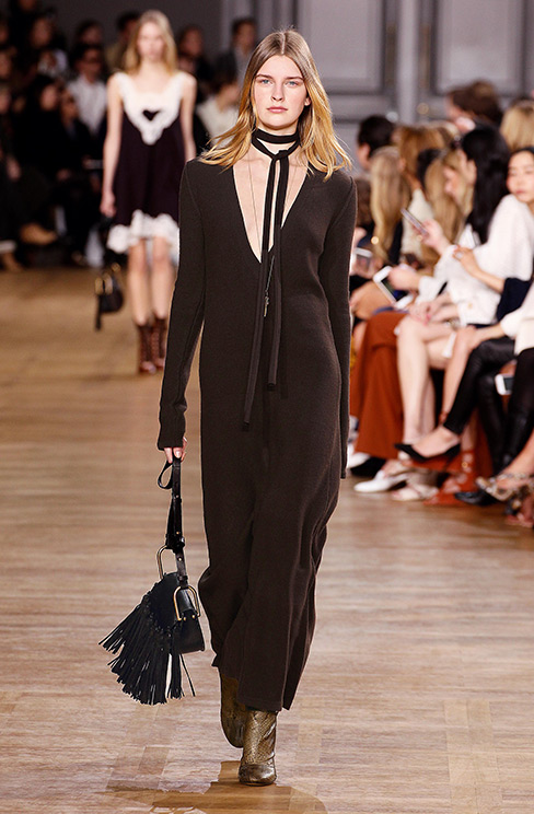 Bolder style for Fall-Winter 2015/2016 by Chloé