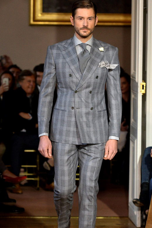 Cifonelli Fall-Winter 2015/2016 collection at Paris men's fashion week
