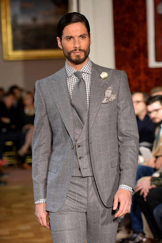 Cifonelli Fall-Winter 2015/2016 collection at Paris men's ...